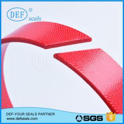 Résine de polyester rouge/bleu avec bande d'usure/bague de tissu de la tps