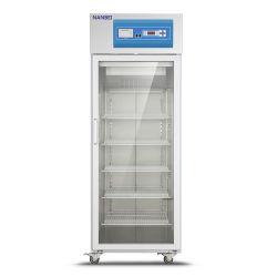 2-8 градусов медицинских вакцины стеклянные двери холодильник с сертификат CE