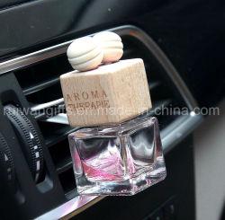 8ml svuotano la bevanda rinfrescante quadrata della bottiglia di profumo dello sfiato dell'automobile