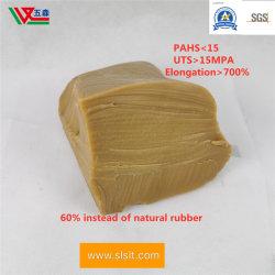 Желтый из латекса Вучан природных высокой прочности класс a латекс переработанных резиновый натурального каучука