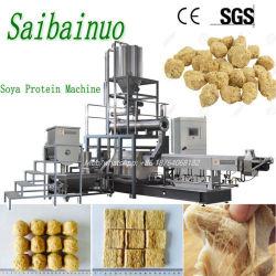 La proteína de soya texturizada planta de maquinaria de procesamiento de alimentos