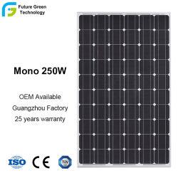 Panneau solaire 250W monocristallin pour toit