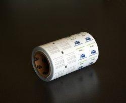 El papel de aluminio laminado de rollo de papel de envoltura de material de embalaje.