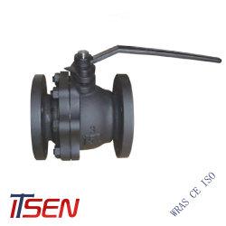 ANSI hierro fundido (ASTM A126-B) 150lb (clase 150) Válvula de bola
