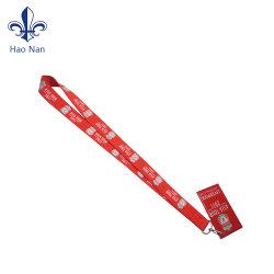 Förderung-Geschenk gedruckte Abzuglinie mit Zug-Bandspule-Abzeichen-Halter