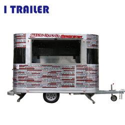 Electric mobile en aluminium panier alimentaire de distributeurs de nourriture panier pour la norme internationale