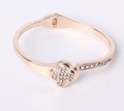 أزياء الذهب مجوهرات الأزياء براسيليت أربعة أوراق كلوفر
