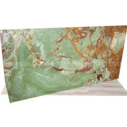 Samengesteld Marmer met Glas, Gelamineerde Tegel, Groen Onyx