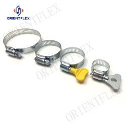 Matériel métallique réglable Tuyau en acier inoxydable de type américain le collier de flexible