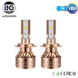 Светодиоды высокой мощности фар 75W 12000LM Авто малый размер светодиодного освещения светодиодные лампы фары