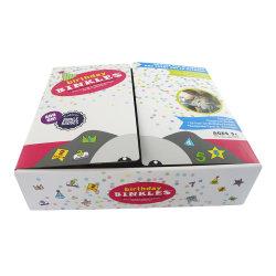 주문 로고 오프셋이 재생한 골판지 아기 또는 아이 또는 아이들 두 배 열리는 동물성 연약한 장난감 종이 선물 패킹 포장 판지 상자를 인쇄했다