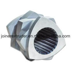 PP PE 아BS PVC 애완 동물을%s Wr5 물자 세그먼트를 가진 플라스틱 기계 압출기 나사 성분
