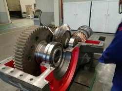 炭鉱の機械装置のための大規模の速度減力剤