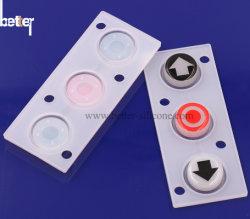 競争価格の二重硬度のシリコーンゴムボタン