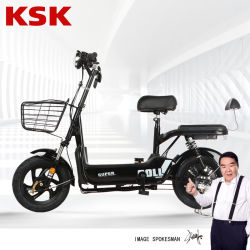 [350و] [48ف12ه] [لد سد بتّري] دراجة بسيطة كهربائيّة