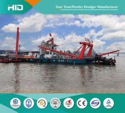 完全な油圧PLC 6-26inchの川のカッターの吸引の砂の浚渫船の直接製造業者