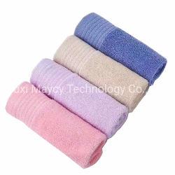Graxa Multiuso 100% algodão Hotel roupão de banho spa de beleza Salão de cabelo, toalha de mão de avião toalha de rosto OEM, Ecológico toalhas em stock