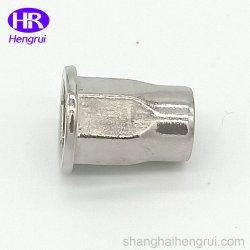 China galvanizado de cabeza plana de la tuerca de remache ciego para muebles