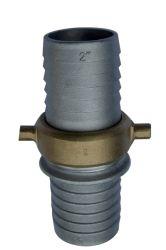 """Couplage de queue de fixation de flexible Pinlug en aluminium 2"""""""