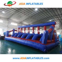 対話型のInflatablesの販売、膨脹可能な屋外スポーツのゲームのための膨脹可能な障害物コース