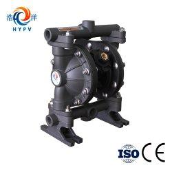 小型空気によって作動させる二重ダイヤフラムの比重の大きい燃料石油の供給ポンプ