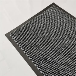 Waschbare Fußmatte-Hochleistungstür-Matten-Teppich Belüftung-Schutzträger Gummi-Rückseiten-Matte Belüftung-Gewebe-Textilreinigung Matalfombras De Polietileno Absorbent