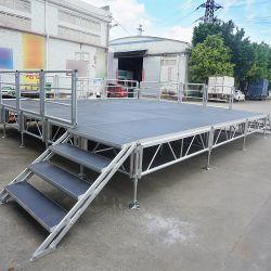 L'extérieur en alliage aluminium mobile portable Stade en bois