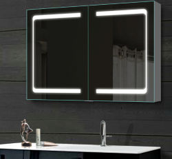 실내 장식 욕실 용품 싱글도어 더블미러캐비닛 미러 고급위생웨어 캐비닛