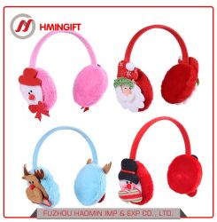 Le Père Noël Bonhomme de neige Deer casque antibruit Child & Décoration de Noël Noël adulte Cartoon Cute Plush casque antibruit