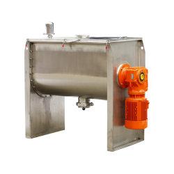 Aço inoxidável Fita Horizontal do copo misturador para mistura de pó com marcação CE