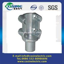 Bride en acier de moulage pour la ligne Type de poste isolateurs polymériques