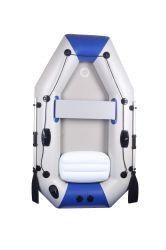 Bote hinchable bote acumulado de 1,7 metros de licitación 2 persona. Un almacenamiento compacto y rápido de la instalación. Bomba y accesorios incluidos.