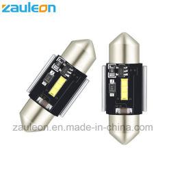 Extrêmement lumineux LED CSP 31mm feston le remplacement des ampoules à LED blanche pour la carte dôme Feux de plaque minéralogique