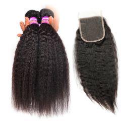 Usine chinoise 10une Vierge Remy Sèche cheveux brésiliens de Tissage de cheveux humains