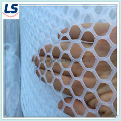 2cm bis 3,5cm Loch Kunststoff-Extruder Drahtgeflecht für die Landwirtschaft Zucht