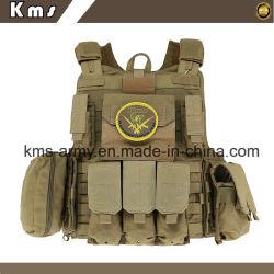 Combate táctico militar Molle Chaleco táctico del ejército de seguridad