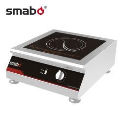 Kooktoestel van de Inductie RoHS van de Controle 3500W van de knop het Commerciële
