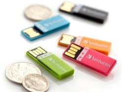 Clip de papier personnalisé en plastique de 8 Go de lecteur Flash USB Signet Pendrive USB 16Go