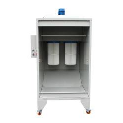 粉の塗装システムのための小さい粉のコーティングブース