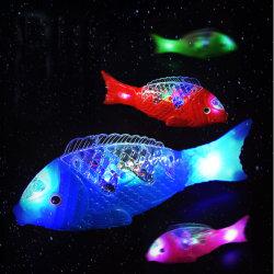 Peixes LED cauda dos animais dom de brinquedos para crianças em movimento