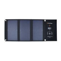 لوحة شمسية مرنة قابلة للطي بقدرة 21 واط قابلة للطي، لوحة رفيعة، ETFE، صغيرة صالحة للشرب شاحن اللوحة الشمسية