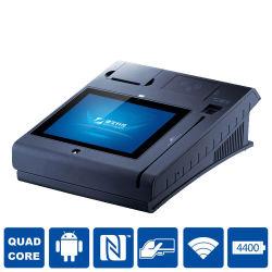 Jepower T508 10inch alle in einen Positions-Befestigungsteilen mit Drucker/WiFi/3G/Nfc/Camera/Bt/Magcard und IS-Karte Leser