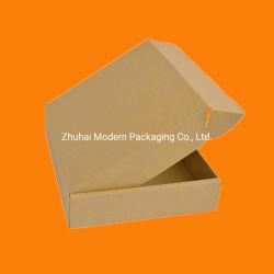 판지 상자 우송 상자 인쇄를 가진 물결 모양 상자 우송자 상자 종이상자