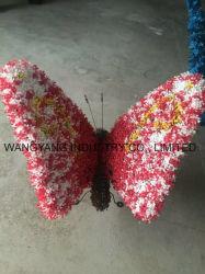 훈장을%s 다채로운 인공적인 잔디 나비