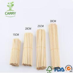 Fabrik-spiißt direktes Bambus BBQ-Fleisch 4.0X300mm auf