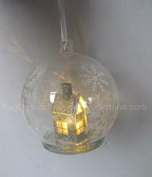 Colgando de la Navidad bola de cristal con cámara interior
