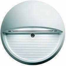 تجويف أضواء الدخول الداخلية المستديرة على الحائط LED بقوة 100-240 فولت مصباح السلالم الآلية