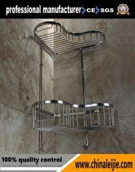 중국에서 욕실 악세사리 욕실의 하트 모양 코너 바스켓