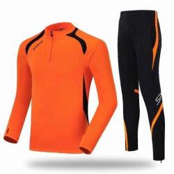 Custom hommes veste de sport de l'exécution des pantalons de survêtement de Soccer Football jeu de formation