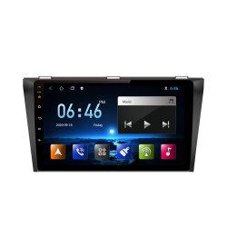Mazda용 9인치 Android 차량용 스테레오 라디오 DVD 비디오 플레이어 3 2004/2005/2006/2007/2008/2009 GPS Nav WiFi USB